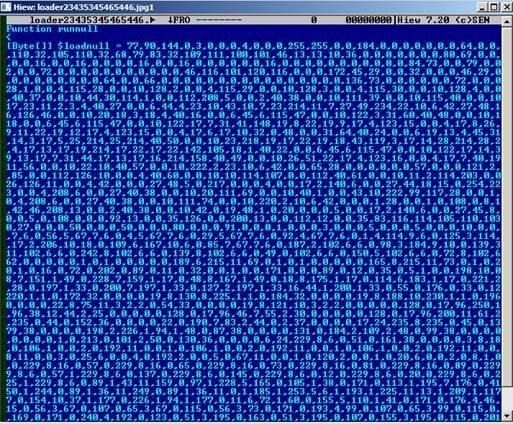 図4:難読化されたVBSファイル
