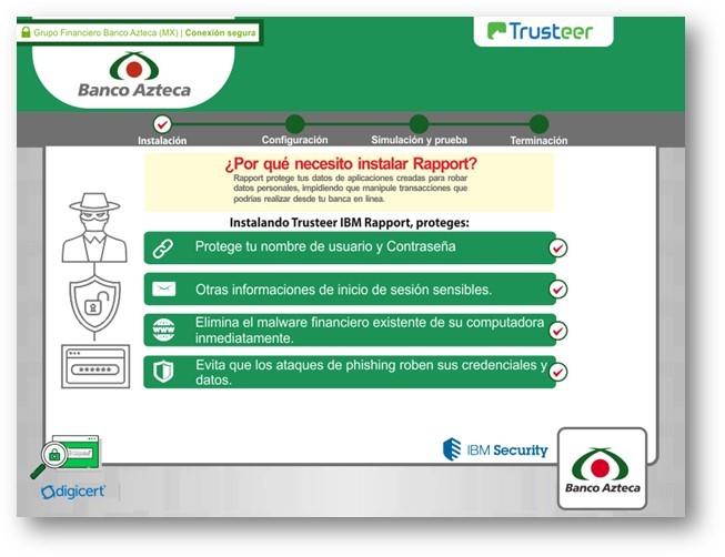 図2:MISPADUが表示するネットバンキングの偽画面例