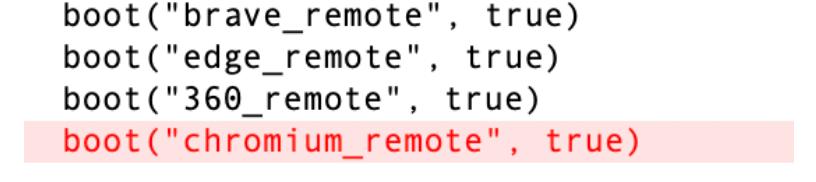 図10:新しいブラウザのサポートが追加されたbootstrap.applescriptモジュール