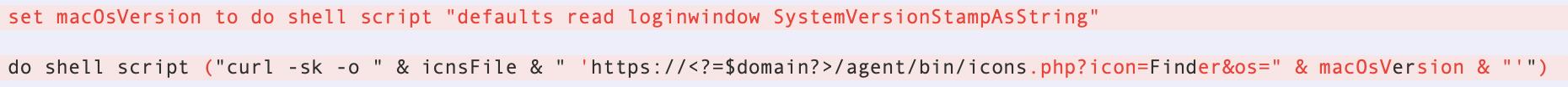 図4:Finderを偽装した偽アイコン(macOS 11.1の場合)