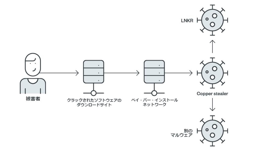 図1:感染の流れ
