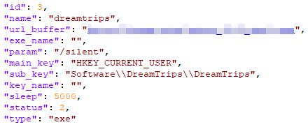 図12:SmokeLoader/Dofoilをダウンロードするよう指示が記述された復号された/info_old/oddファイル