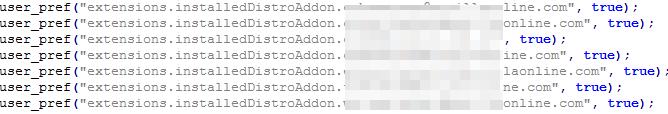 図15:Firefox向けの悪意のあるFirefox拡張機能