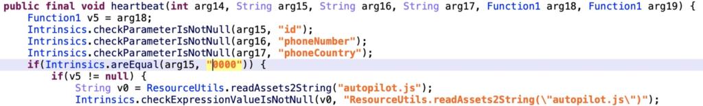 図4:デバッグのためにローカルファイル「autopilot.js」を読み込むJoker
