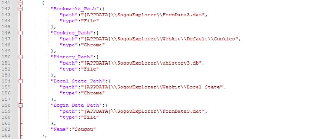 図24:Sogou Explorerを攻撃対象としたコマンドを示す不正コード